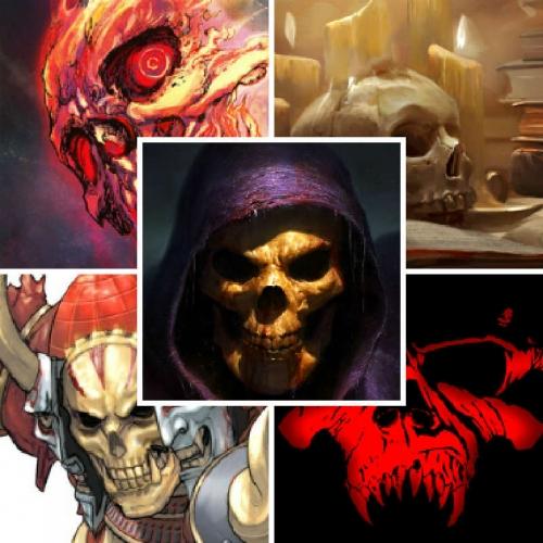 Подборка аватаров с черепами #1