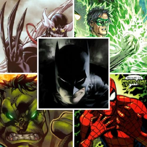 Подборка аватаров из героев комиксов