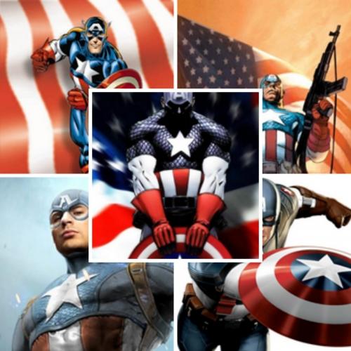 Подборка аватаров комиксов Марвел. Капитан Америка